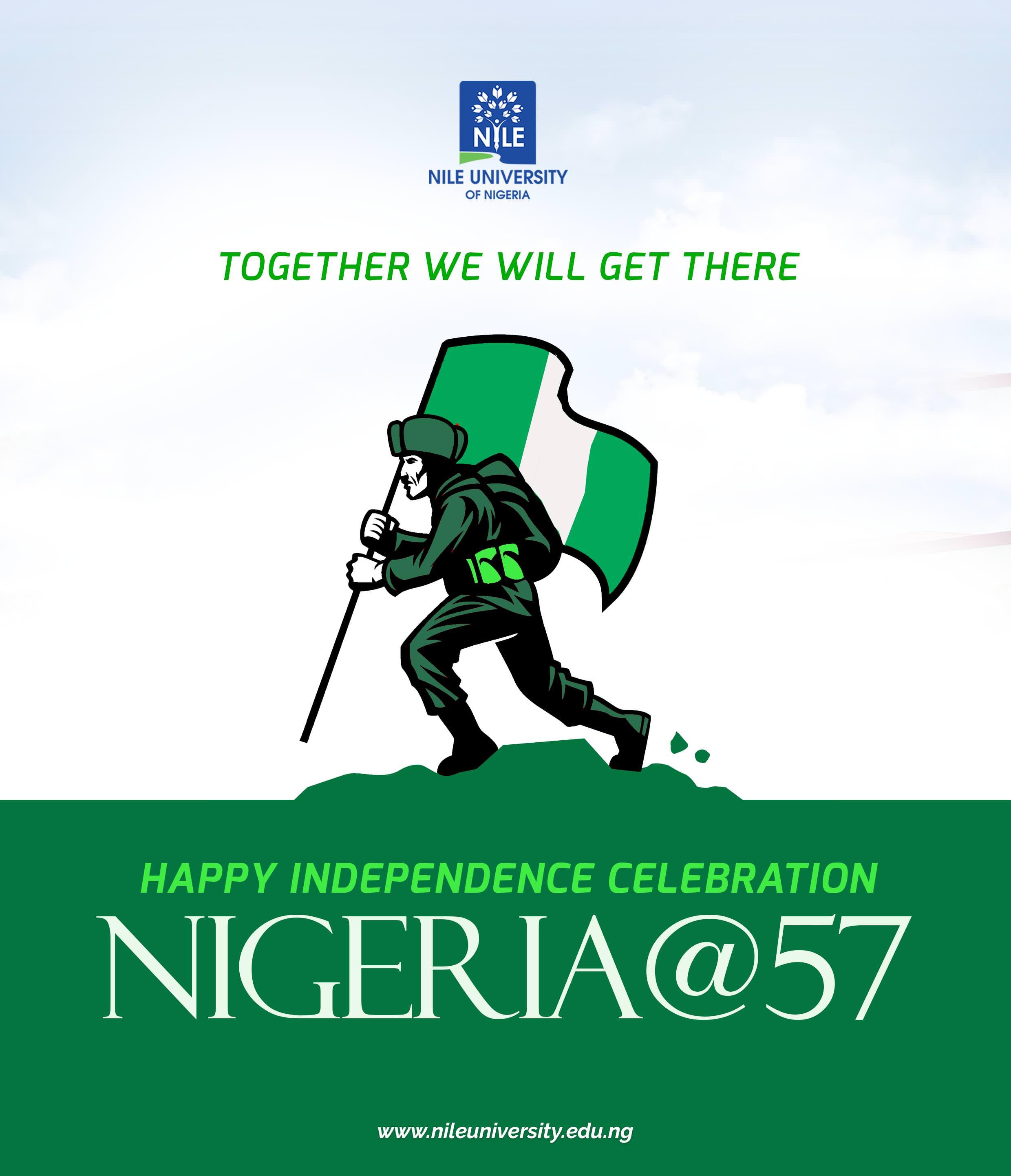 Happy Independence Day Celebrations Nile University Of Nigeria