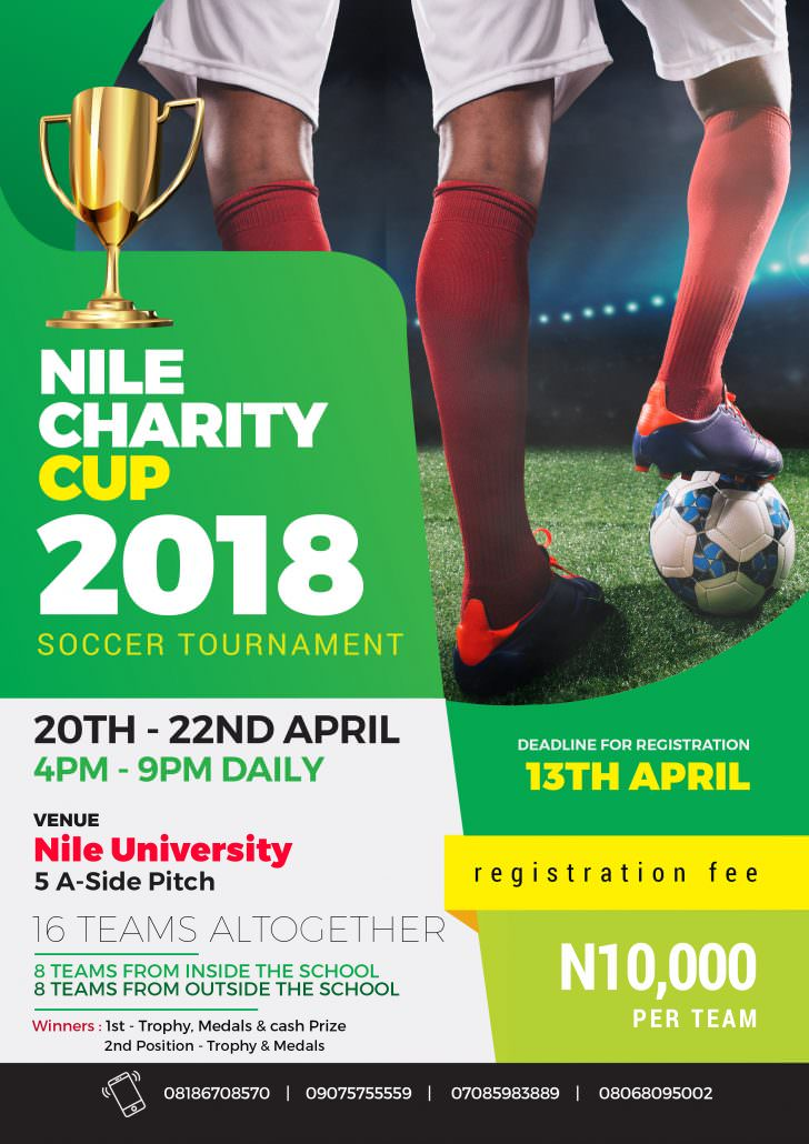Nile Charity cup