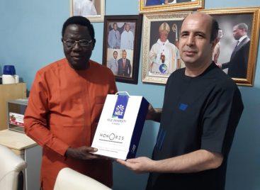 Nile University Delegation Visits Christian Association of Nigeria