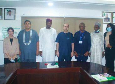 Nile University Delegation Visits SMEDAN