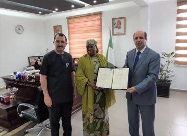 Nile University Hosts New Ambassador Permanent Delegation of Nigeria to UNESCO