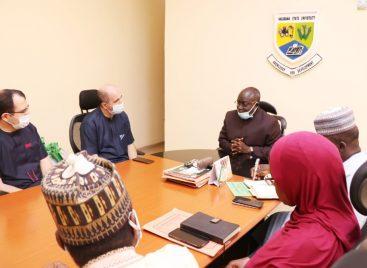 Nile University team visits Nasarawa State University VC